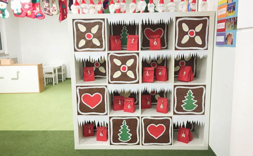 Weihnachtsbasteln für die Zwerge