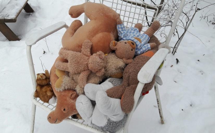 Willkommen beim Winterfest der Kuscheltiere