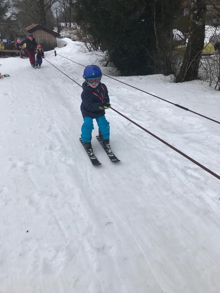 Kindergarten Skikurs Lenggries