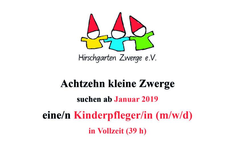 Kinderpflegerin Nymphenburg Elterninitiativ gesucht